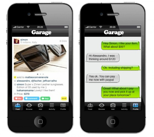 App garage: vendi quello che non ti serve con l'iPhone